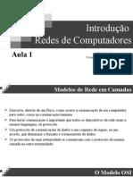 Introdução - Redes de Computadores