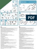 Manual de Utilizare Aspirator Fara Sac Electrolux Supercyclone Esc61lr