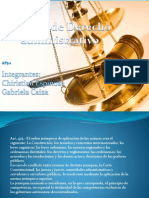 Derecho Administrativo Organigrama
