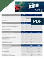 Ficha Tecnica HRV2019