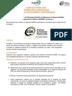 Convocatoria Insignia Inclusion Social Social 2019