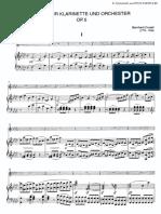 CRUSELL, B. - Concert Für Klarinette Und Orchester Op. 5 - KLAVIER (1)