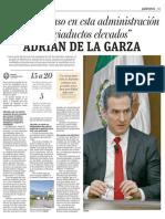 """01-07-19 """"Daremos paso en esta administración a los viaductos elevados"""" ADRIÁN DE LA GARZA"""
