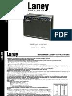 Laney LC50-112 Manual