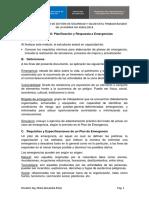 1. Módulo 8. Planificación y Respuesta a Emergencias