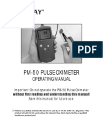 Mindray- PM-50 Pulse Oximeter
