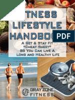 Fitness Lifestyle Handbook Content