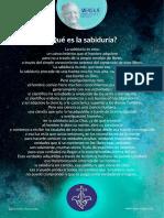 P. Dávila (Qué Es La Sabiduria)