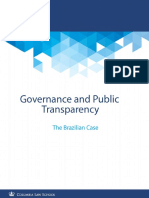 Governance and Public Transparency the Brazilian Case