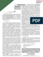 Aprueban el Reglamento de las Actividades Especializadas de Guiado y modifican el Reglamento de la Ley del Guía de Turismo DECRETO SUPREMO Nº 004-2019-MINCETUR