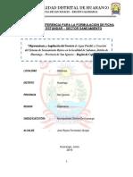 Reglamento de Contrataciones Con El Estado