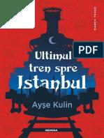 Ayse Kulin -Ultimul Tren Spre Istanbul