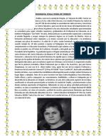 biografia ZOILA HORA DE ROBLES
