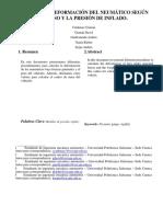 Analisis de Deformacion de Neumatico.