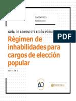 Guía de Administración Pública - Régimen de inhabilidades para cargos de elección popular, versión 2 (1).docx