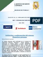 MAT.1 BANCARIA CONTA SECTORIAL I DR.BERNARDO SANCHEZ UNMSM.pptx