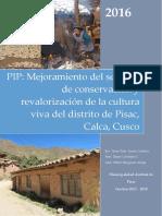 Proyecto de Cultural de Pisac