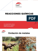 Reacciones quimicas