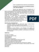 Construcción Colectiva y Colaborativa Del Protocolo de Entrevista