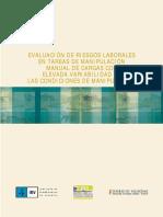 Evaluación de riesgos laborales en tareas de manipulación. Manual de cargas con elevada variabilidad en las condiciones de manipulación .pdf