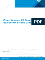 Vmware Workspace One Overview and Documentation Reference Guide