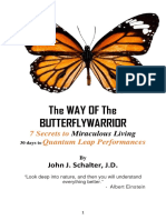 the way of the butterfly warrior  10-30-17