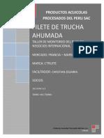 Investigacion de Mercados-filete de Trucha