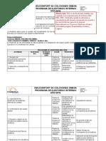 Modelo - Programa de Auditorías Internas (1)-Semana 2