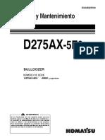 O&M D275AX-5E0 30001-UP ESAM025500.pdf