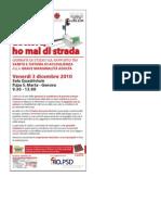 """03.12.10 Genova. """"Dottore ho mal di strada"""". Giornata di studio sul rapporto tra sanità ed esclusione sociale"""