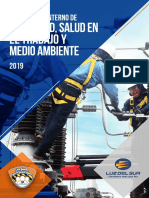 Reglamento de Seguridad de Luz Del Sur 2018 - 2019