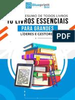 E Book 10 Livros Esseciais Para Grandes Líderes e Gestores