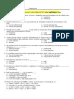psychology test ch4