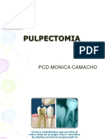 pulpotomia