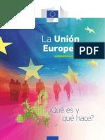 2018 La UE Que Es y Que Hace (1)