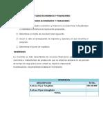 Proyecto Plan Financiero