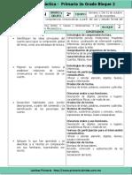 Plan 2do Grado - Bloque 2 Español (2016-2017)