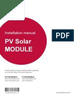 UL NeON 2 MonoX Plus 60 72cells Installation Manual