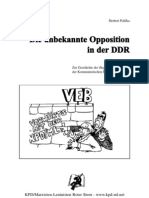 Opposition Ddr