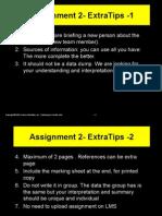 Assignment 2- ExtraTips BUS214