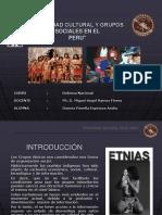 Etnicidad Cultural y Grupos Sociales