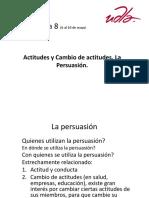 S. 8-Cambio de Actitudes.la Persuación