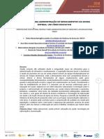 Orientação Para Administração de Medicamentos via Sonda Enteral -Um Vídeo Educativo