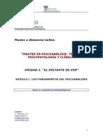 Ipsi.master en Psicoanalisis.tema IV.dinamica Intrapsiquica