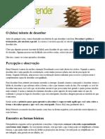 Como aprender a desenhar - Dicas.pdf