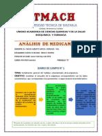 Diario 1 de Analisis de Medicamntos