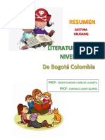 Resumen Sobre La Lectura Obl Literatura en El Niv Inicial