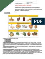 Guia Nutrientes 5to Basico