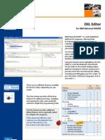 DXL Editor - The Smartest Editor for Rational DOORS DXL
