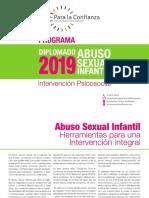Programa Diplomado en Intervencion Psicosocial 2019